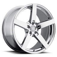 Mandrus Arrow 19x9.5 5x112 Chrome 35 Wheels Rims | 1995MAA355112C66