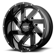 Moto Metal MO988 Melee 22x10 8x6.5 8x165.1 Black Milled -18 Wheels Rims | MO98822080318N