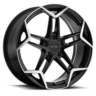 Petrol P1A 18x8 5x100 Gloss Black 35 Wheels Rims | 1880P1A355100B72