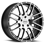 Petrol P6A 19x8 5x120 Gloss Black 35 Wheels Rims | 1980P6A355120B76