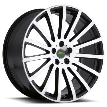 Redbourne Dominus 22x9.5 5x120 Gloss Black 32 Wheels Rims | 2295RDM325120B72