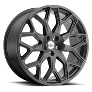 Redbourne King 22x10 5x120 Gunmetal 37 Wheels Rims | 2210RDK375120G72
