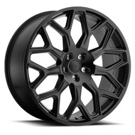 Redbourne King 22x10 5x120 Matte Black 37 Wheels Rims | 2210RDK375120M72