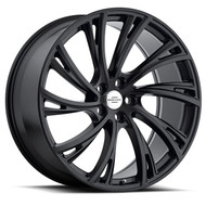 Redbourne Noble 22x10 5x120 Black 37 Wheels Rims | 2210RDB375120D72L