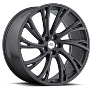 Redbourne Noble 22x10 5x120 Gunmetal 37 Wheels Rims | 2210RDB375120G72L
