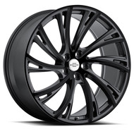 Redbourne Noble 22x10 5x120 Gunmetal Black Face 37 Wheels Rims | 2210RDB375120B72R