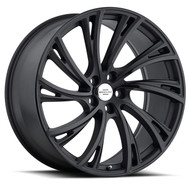 Redbourne Noble 22x10 5x120 Matte Black 37 Wheels Rims | 2210RDB375120M72L