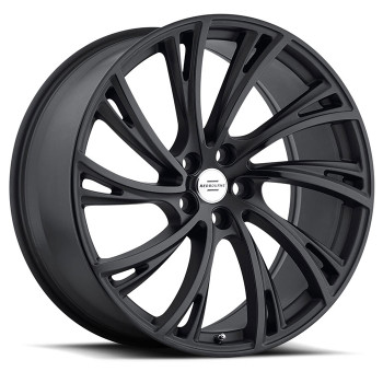 Redbourne Noble 22x10 5x120 Matte Black 37 Wheels Rims | 2210RDB375120M72R