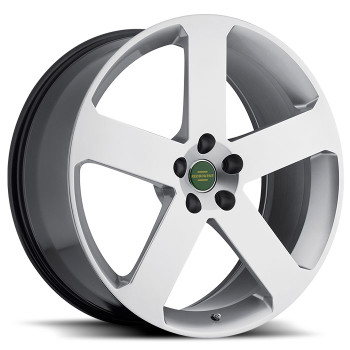 Redbourne Nottingham 22x9.5 5x120 Silver 32 Wheels Rims | 2295RNT325120S72