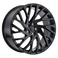 Redbourne Westminster 22x10 5x120 Gloss Black 37 Wheels Rims | 2210RWE375120B72R