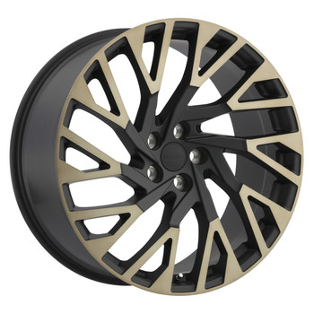 Redbourne Westminster 22x10 5x120 Matte Black 37 Wheels Rims | 2210RWE375120M72L