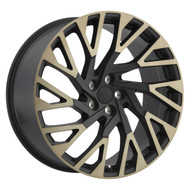 Redbourne Westminster 22x10 5x120 Matte Black 37 Wheels Rims | 2210RWE375120M72R