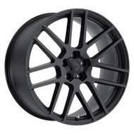 Redbourne Windsor 22x10.5 5x120 Matte Black 35 Wheels Rims | 2205WND355120M72