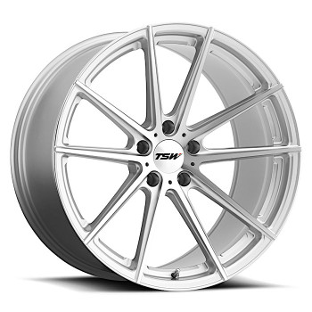 Tsw Bathurst 21x10.5 5X4.5 Silver 50 Wheels Rims | 2105BAT505114S76