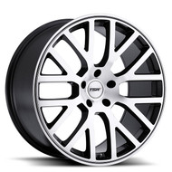 Tsw Donington 22x9 5x120 Gunmetal 35 Wheels Rims | 2290DON355120B76