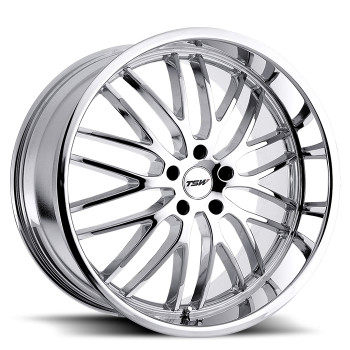 Tsw Snetterton 19x8 5x100 Chrome 35 Wheels Rims | 1980SNT355100C72
