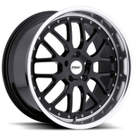Tsw Valencia 19x9.5 5x120 Gloss Black 40 Wheels Rims | 1995VAL405120B76