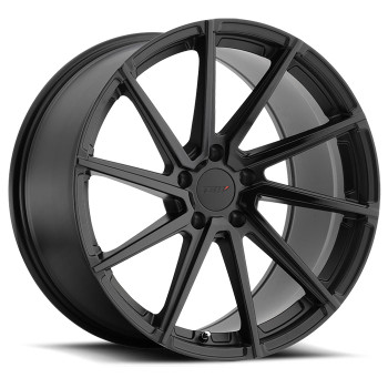 Tsw Watkins 18x8.5 5x108 Matte Gloss Black Face 42 Wheels Rims | 1885WAT425108B72R