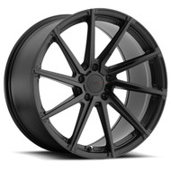 Tsw Watkins 18x8.5 5x112 Matte Gloss Black Face 42 Wheels Rims | 1885WAT425112B72R