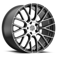 Victor Stabil 22x9 5x112 Gunmetal 22 Wheels Rims | 2290VIA225112G66