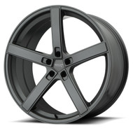 American Racing AR920 Blockhead 22x9 5x115 Charcoal Gray 20 Wheels Rims | AR92022915920