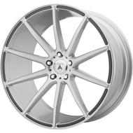 Asanti ABL-20 20x10 Blanks Custom Drilled Bolt Patterns Silver 0 Wheels Rims | ABL20-20100040SL