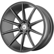Asanti ABL-20 20x8.5 Blanks Custom Drilled Bolt Patterns Graphite Gray 0 Wheels Rims | ABL20-20850038MG