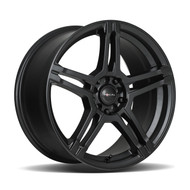 Focal F-51 16x7 5x108 5x115 Satin Black 40 Wheels Rims | 451-6715SB+40