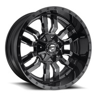Fuel Sledge 22x10 8x170 Black Milled -18 Wheels Rims | D59522001747