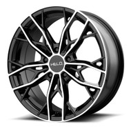HELO HE907 18x8 5x120 Black Machined 40 Wheels Rims | HE90788052540