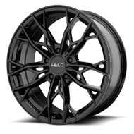HELO HE907 17x7 5x4.5 5x114.3 Gloss Black 38 Wheels Rims | HE90777012338