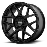 KMC Bully KM708 17x8 5x4.5 5x114.3 Satin Black 38 Wheels Rims | KM70878012738