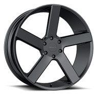 Milanni Switchback 20x9 6x132 Satin Black 30 Wheels Rims | 472-2924SB30
