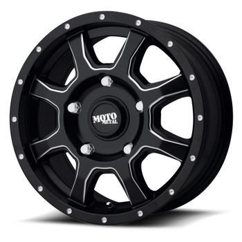 Moto Metal MO970 17x8 5x160 Black 42 Wheels Rims | MO97078016942