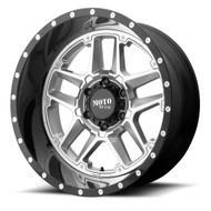 Moto Metal MO987 Sentry 20x12 5x5.5 5x139.7 Silver -44 Wheels Rims | MO98721285444N