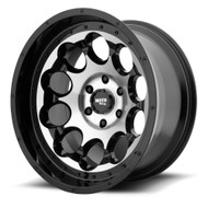 Moto Metal MO990 Rotary 20x12 6x5.5 6x139.7 Black Machined -44 Wheels Rims | MO99021268544N