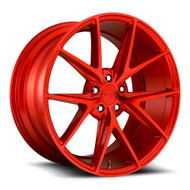 Niche Misano M186 19x8.5 5x4.5 5x114.3 Gloss Red 33 Wheels Rims | M186198565+33