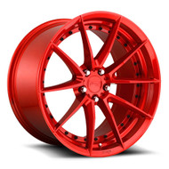 Niche Sector M213 20x10.5 5x120 Gloss Red 35 Wheels Rims | M213200521+35