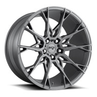 Niche Staccato M182 19x8.5 5x112 Anthracite Gray 35 Wheels Rims | M182198543+35