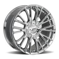 Platinum Genesis 437C 18x8 5x112 5x120 Chrome 40 Wheels Rims | 437-8822C+40