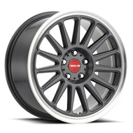 Raceline Grip 18x9.5 5x112 Gunmetal Gray 35 Wheels Rims | 315G-89517+35