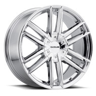 Raceline Impulse 20x8.5 6x132 6x120 Chrome 38 Wheels Rims | 158C-28574+35