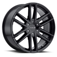 Raceline Impulse 20x8.5 6x132 6x120 Gloss Black 37 Wheels Rims | 158B-28574+35