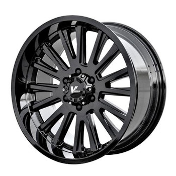 V Rock ® Anvil Wheels Rims 17x9.5 5x127 (5x5) Gloss Black -5mm | VR11-79735GB