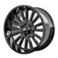 V Rock ® Anvil Wheels Rims 18x9.5 5x127 (5x5) Gloss Black -5mm | VR11-89735GB