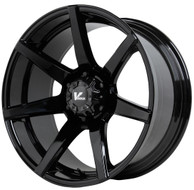 V Rock ® Extractor Wheels Rims 17x9.5 5x127 (5x5) Gloss Black -5mm | VR8-79735B