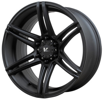 V Rock ® Terrain Wheels Rims 20x9.5 5x127 (5x5) Matte Black 0mm | VR9-29730B