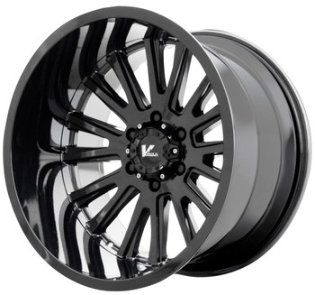 V Rock ® Anvil Wheels Rims 22x12 5x5.5 (5x139.7) Gloss Black -44mm | VR11-2218544GB