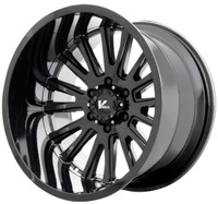 V Rock ® Anvil Wheels Rims 22x12 6x5.5 (6x139.7) Gloss Black -44mm | VR11-2215844GB