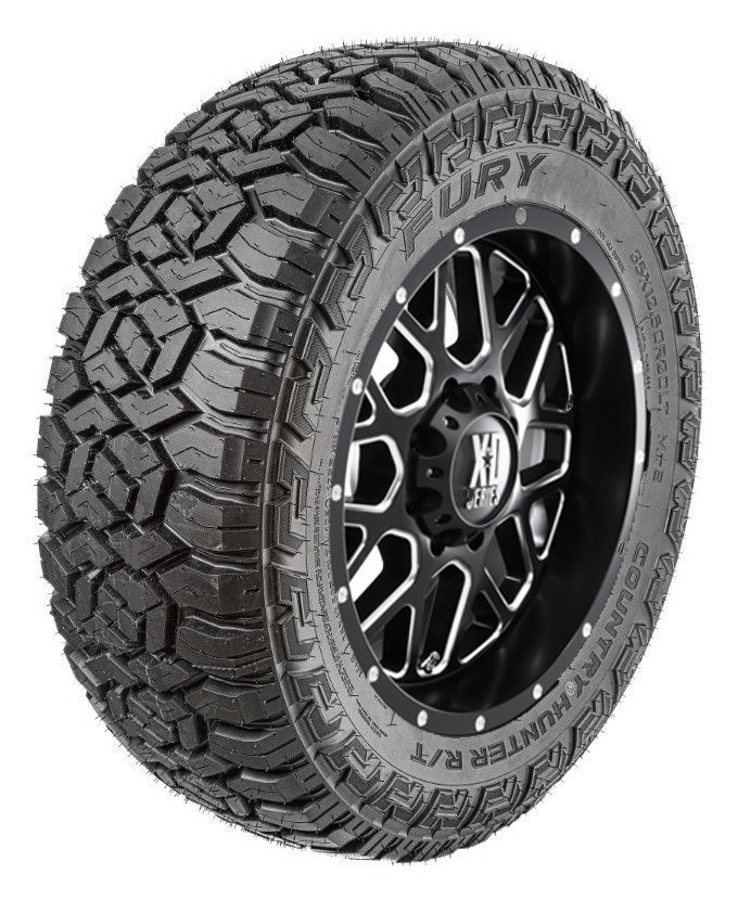 Best Rated Off Road Tires >> Fury Country Hunter Rt Tire 35x12 50r20lt 125q F Series Free Road Hazard Coverage